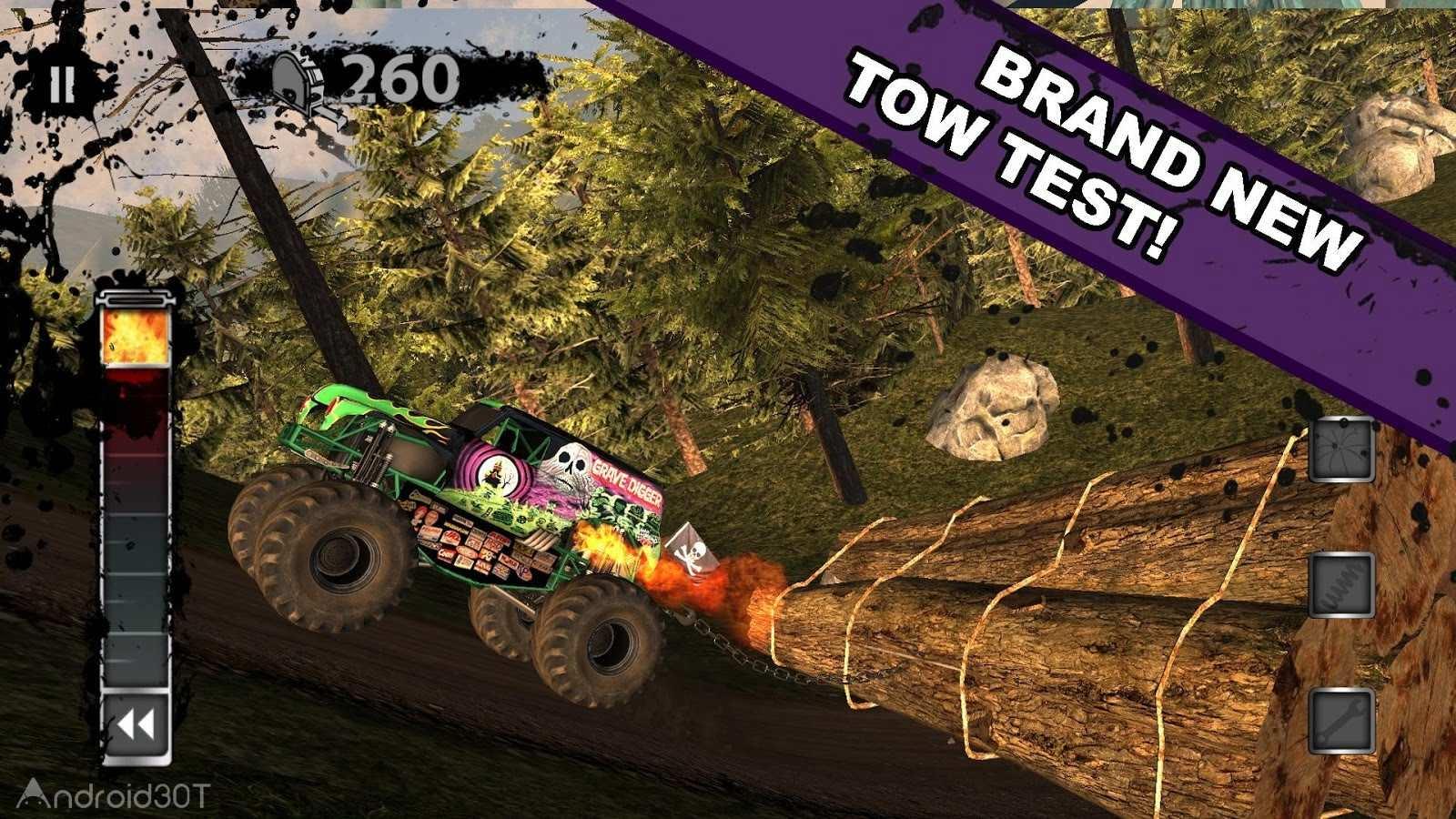 دانلود MonsterJam 5.0 – بازی مسابقات ماشین های غول پیکر اندروید