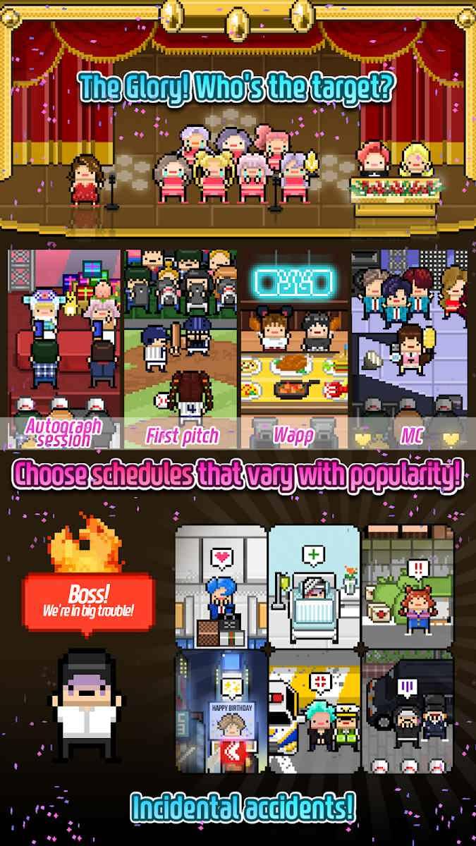 دانلود Monthly Idol 7.01- بازی جذاب دخترانه برای اندروید