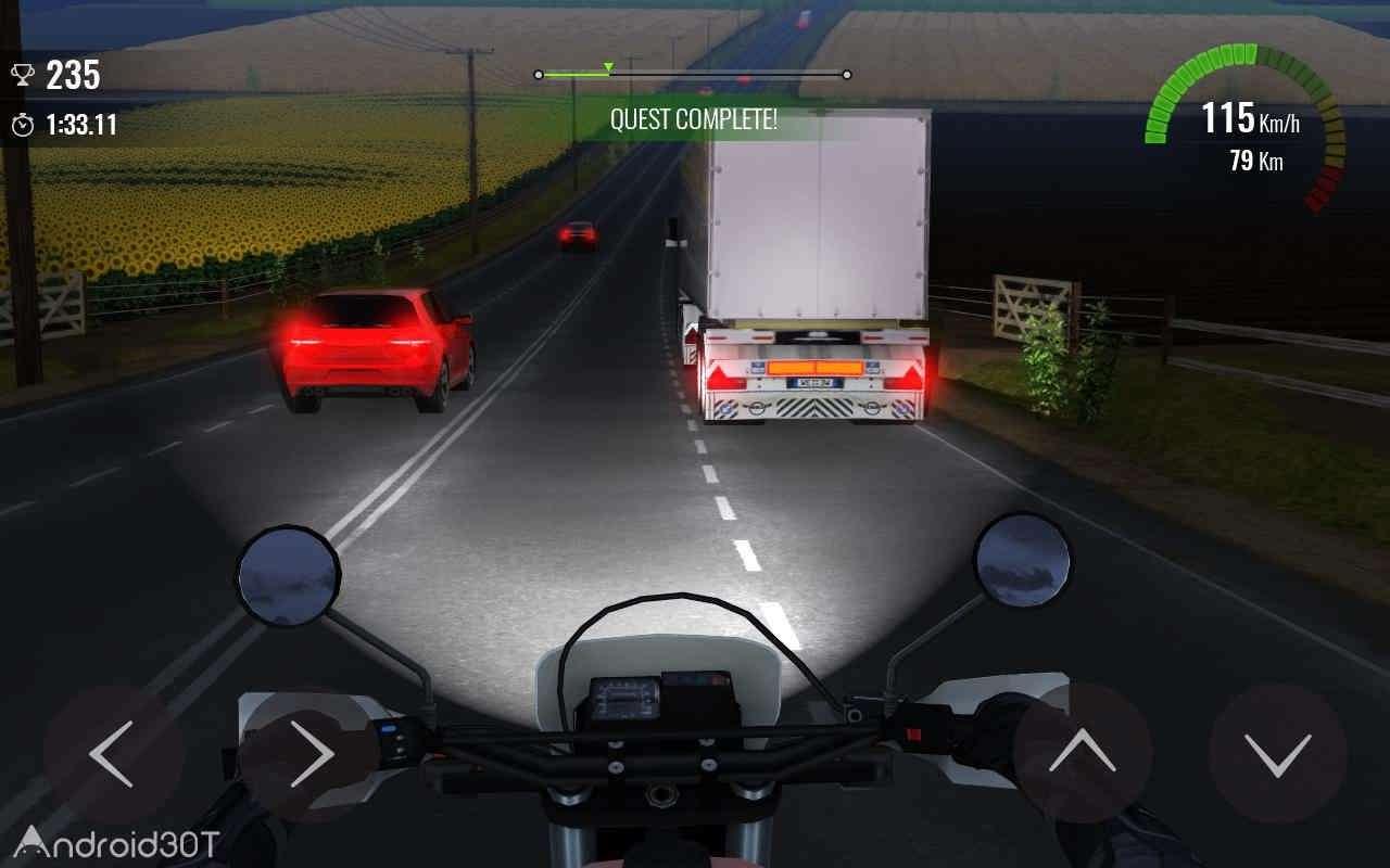 دانلود Moto Traffic Race 2 v1.20.00 – بازی مسابقات موتور سواری در ترافیک ۲ اندروید