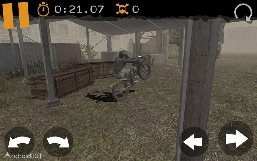 دانلود Motorbike Racing 1.2.2 – بازی موتورسواری عبور از موانع اندروید