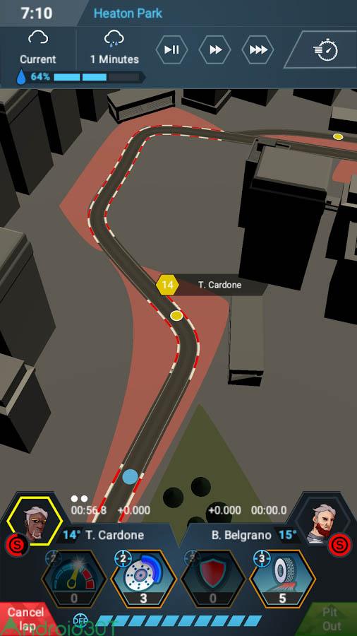 دانلود Motorsport Master 1.2.4 – بازی مسابقه ای موتوراسپورت اندروید