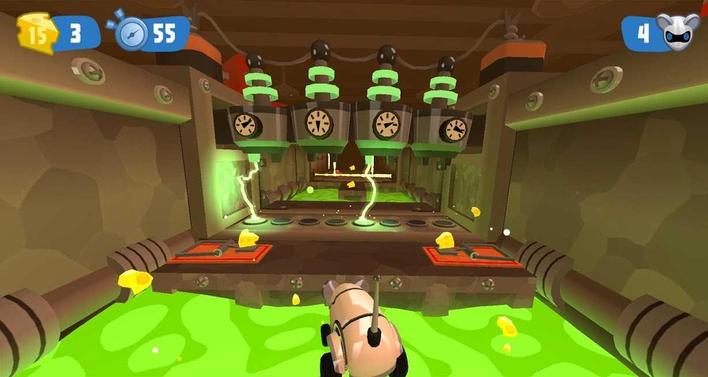دانلود MouseBot 1.2.3 – بازی اکشن موش ربات اندروید