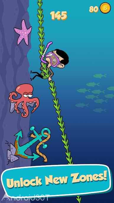 دانلود Mr Bean – Risky Ropes 1.2.0 – بازی جالب مستربین برای اندروید