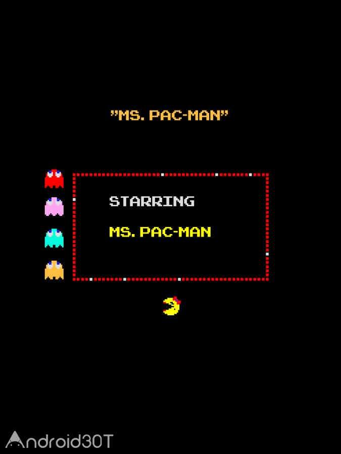 دانلود Ms. PAC-MAN by Namco 2.5.0 – بازی کم حجم خانم پک من اندروید