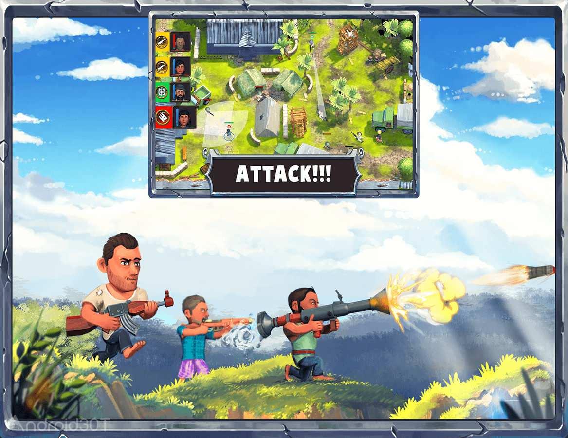 دانلود Mukti Camp 2.09 – بازی حمله به اردوگاه اندروید