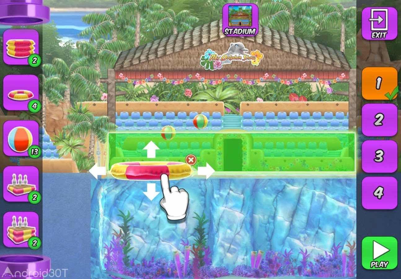 دانلود My Dolphin Show 4.37.8 – بازی نمایش دلفین من اندروید