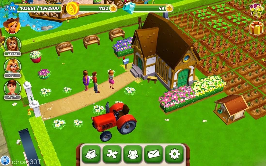 دانلود My Free Farm 2 1.32.011 – بازی ماجراجویی مزرعه من اندروید