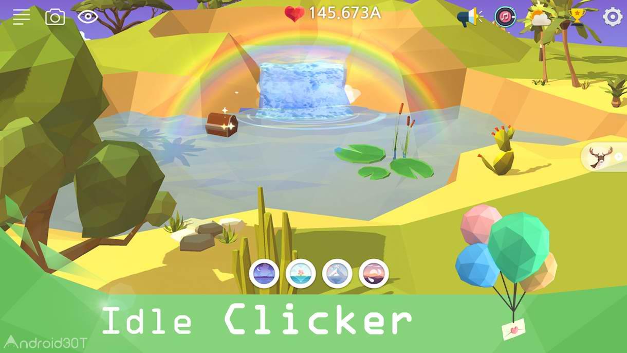 دانلود My Oasis – Tap Sky Island 2.46.2 – بازی شبیه سازی آسمان جزیره اندروید