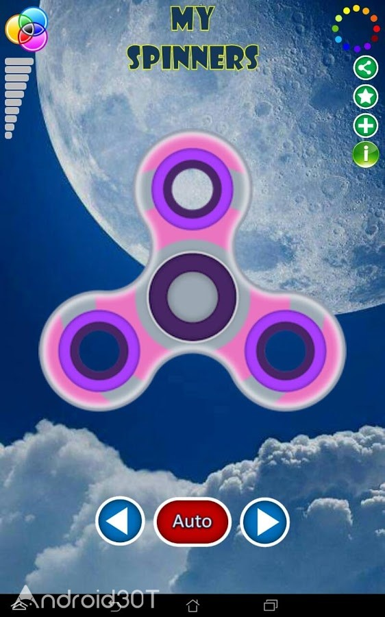 دانلود 1.0.4 My Spinners – بازی سرگرم کننده مای اسپینر اندروید