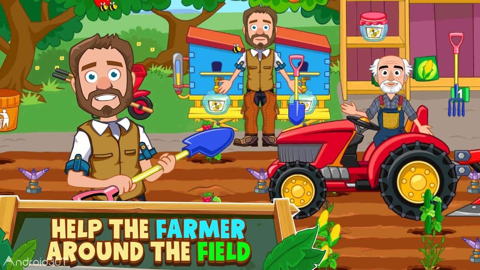 دانلود My Town : Farm 1.00 – بازی مزرعه داری بدون دیتا اندروید