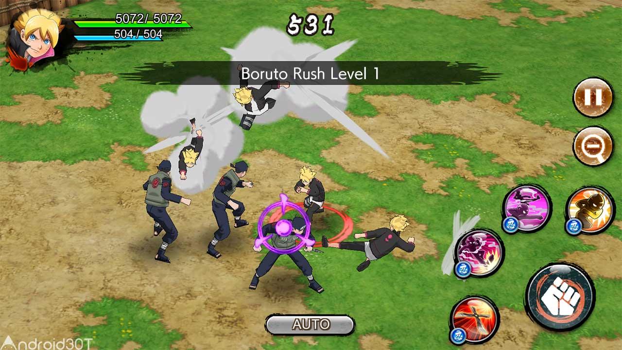 دانلود NARUTO X BORUTO NINJA VOLTAGE 7.4.0 – بازی اکشن نینجا ولتاژ اندروید