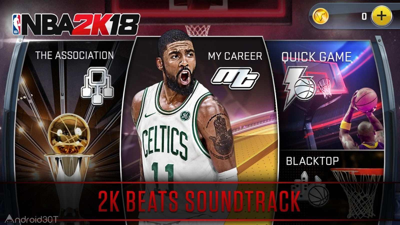 دانلود NBA 2K18 50.0.1 – بازی بسکتبال ان بی ای 2018 اندروید