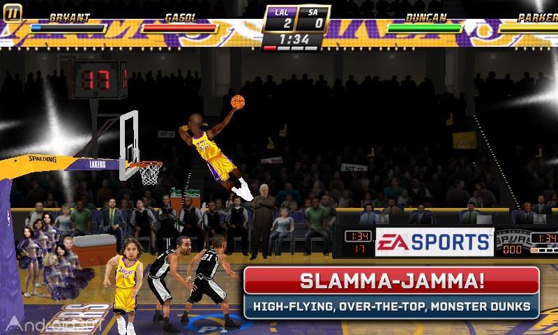 NBA JAM by EA SPORTS 04.00.40 – بازی بسکتبال NBA اندروید