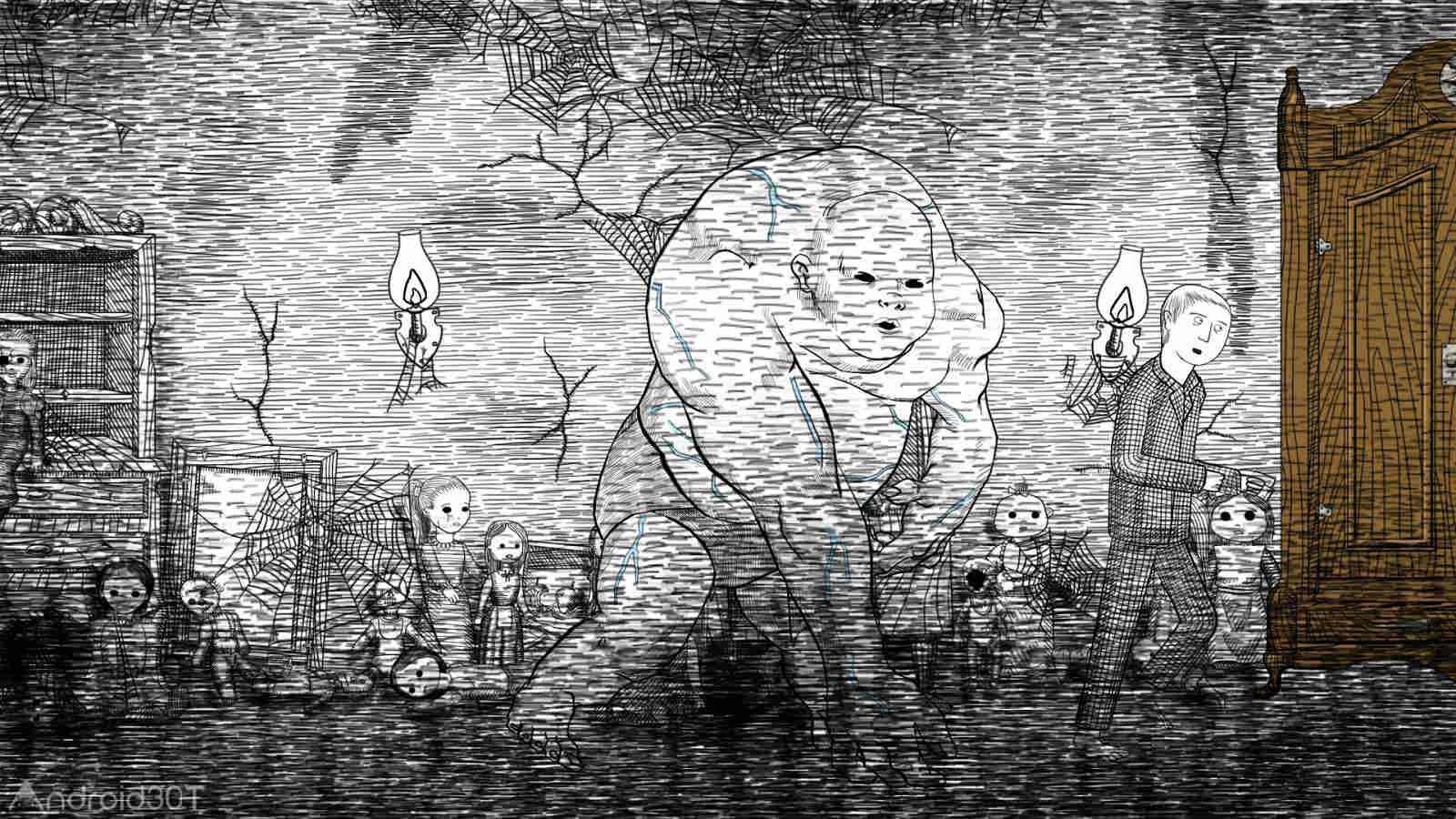 دانلود Neverending Nightmares 3.2 – بازی ترسناک کابوس اندروید