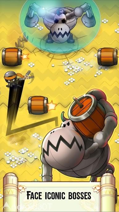 دانلود Nindash: Skull Valley 1.80.4 – بازی کم حجم دره جمجمه اندروید
