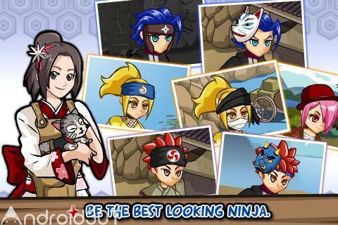 دانلود Ninja Saga 1.3.96 – بازی جذاب حماسه نینجا اندروید