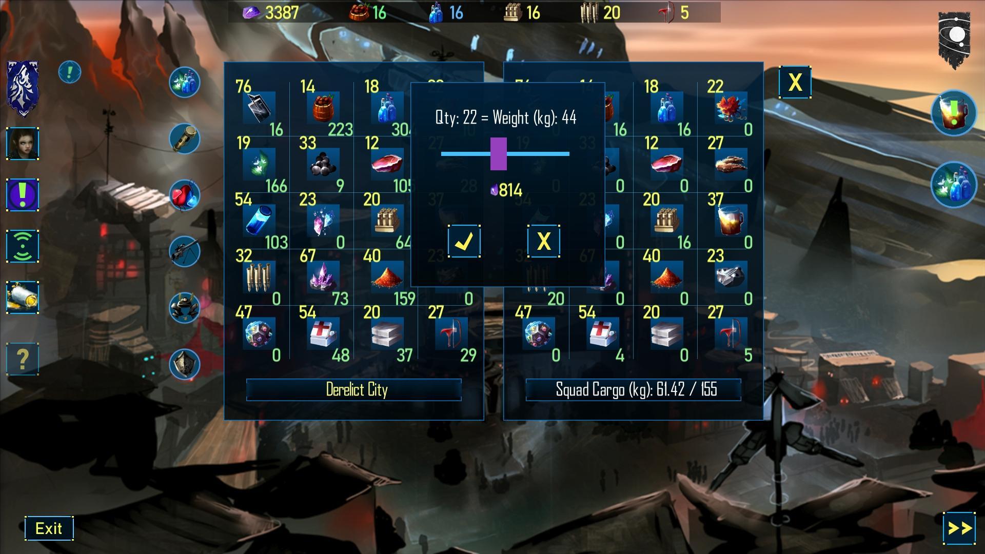 دانلود Nomads of the Fallen Star 1.04 – بازی نقش آفرینی کوچ نشینان اندروید