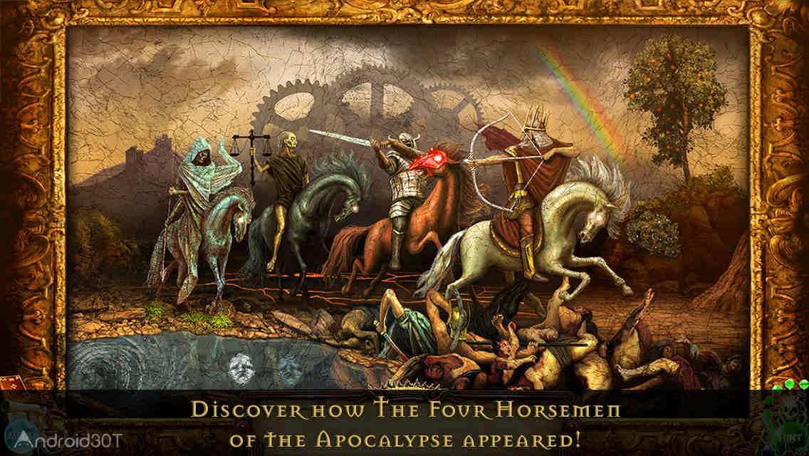 دانلود Nostradamus – The Four Horsemen Of The Apocalypse 1.0 – بازی ماجراجویی و اشیاء پنهان اندروید