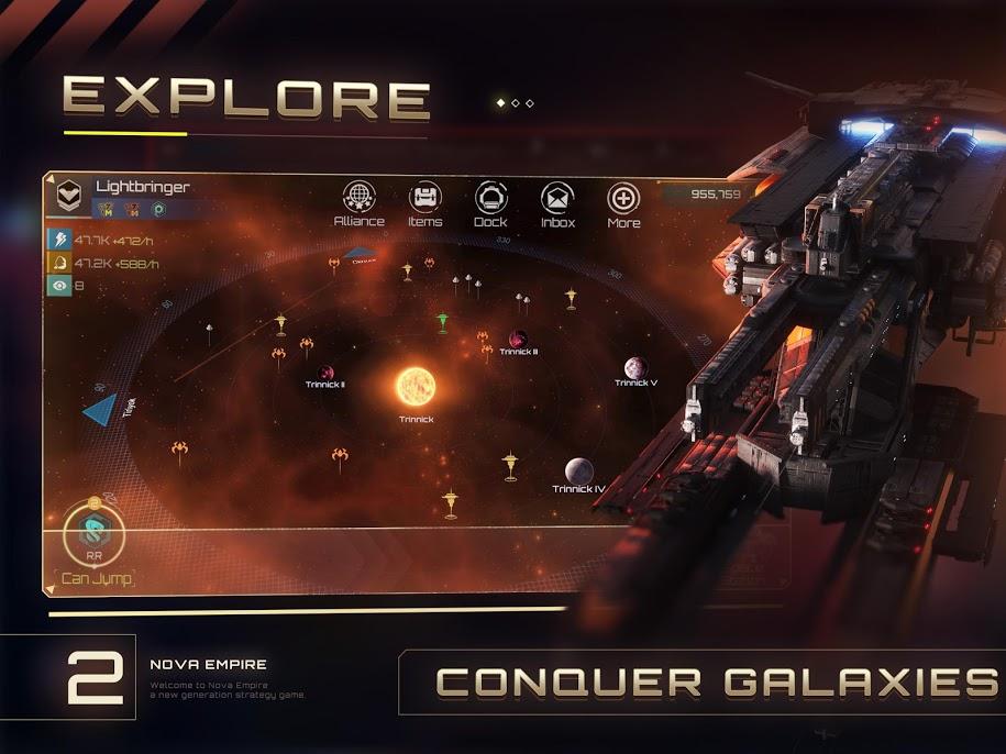 دانلود 1.7.6 Nova Empire – بازی استراتژیکی نوا اندروید