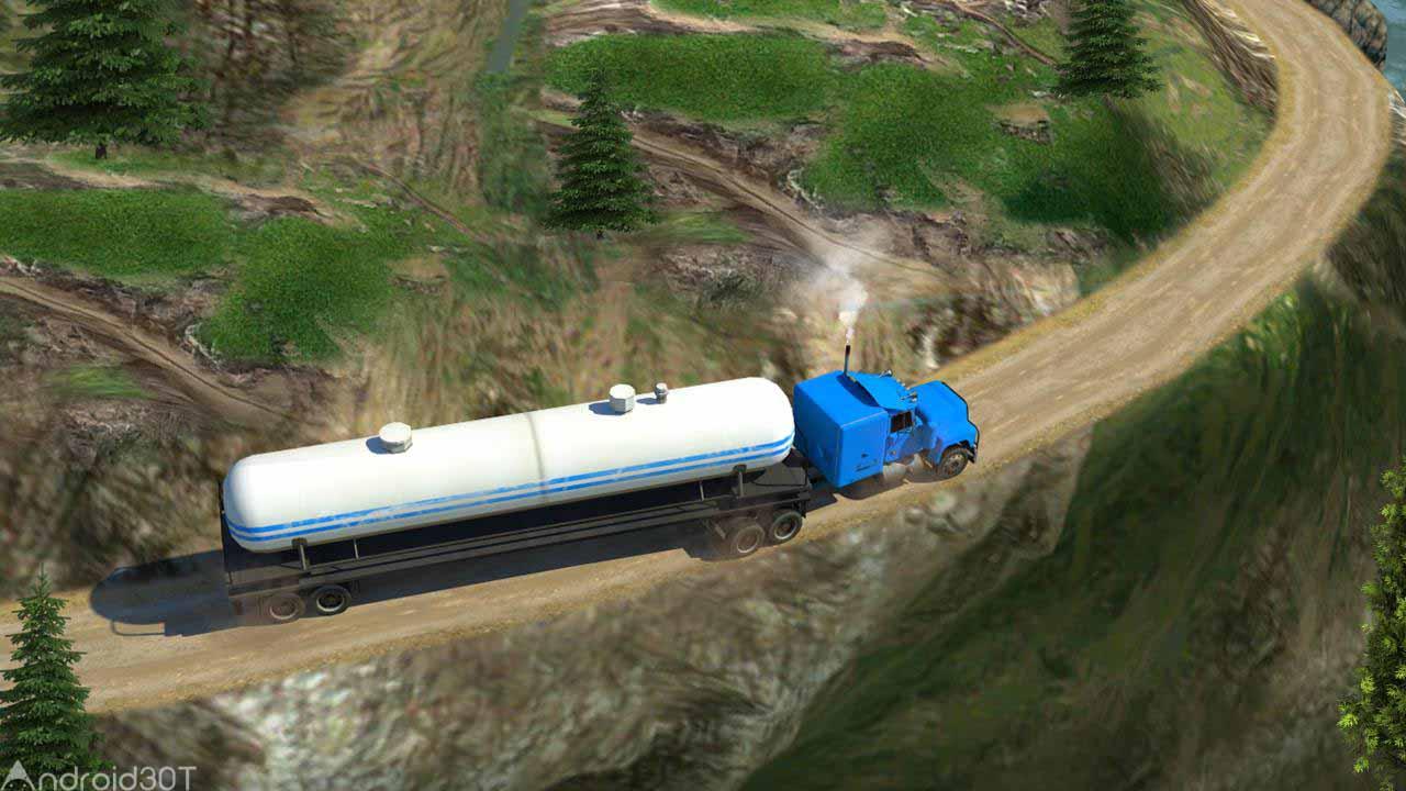 دانلود Oil Tanker Truck Simulator: Hill Climb Driving 1.2 – بازی شبیه سازی کامیون اندروید