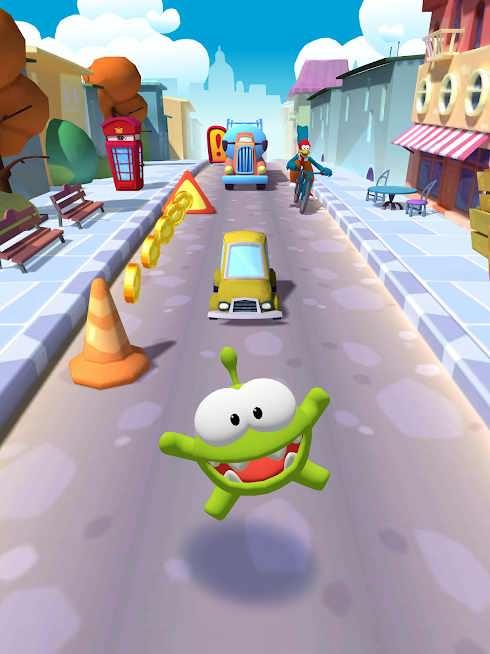 دانلود Om Nom: Run v1.4.3 – بازی کودکانه اوم نوم ران اندروید