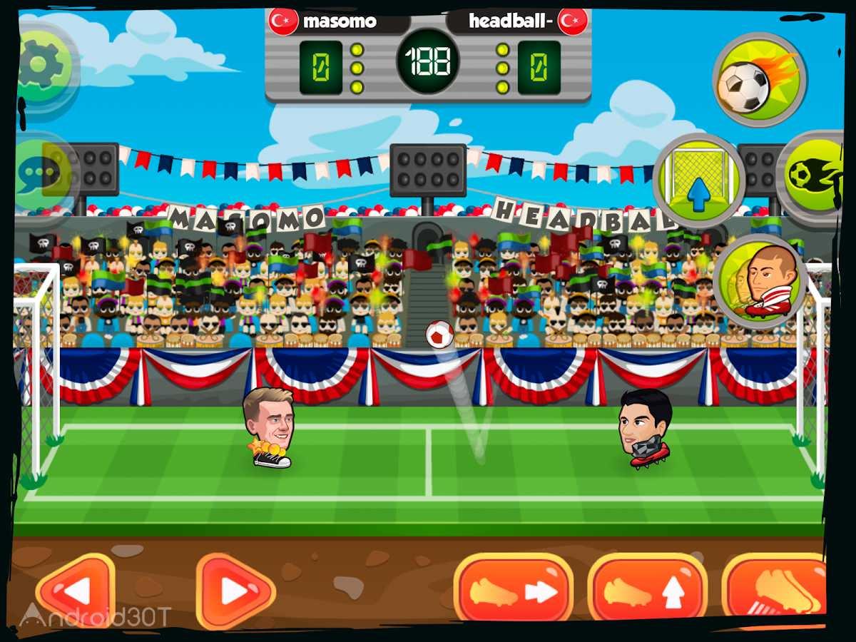 دانلود Online Head Ball 32.13 – بازی فوتبال آنلاین اندروید