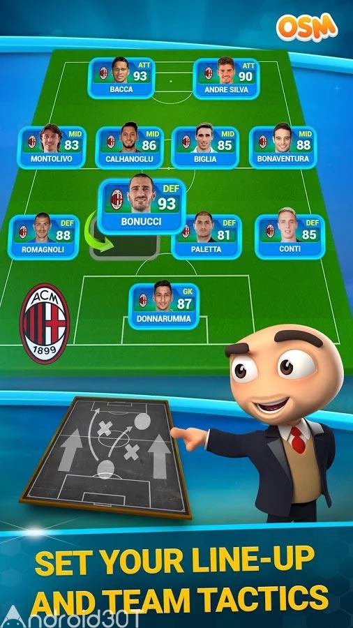 دانلود Online Soccer Manager (OSM) 3.5.4.3 – بازی مدیریت فوتبال آنلاین اندروید
