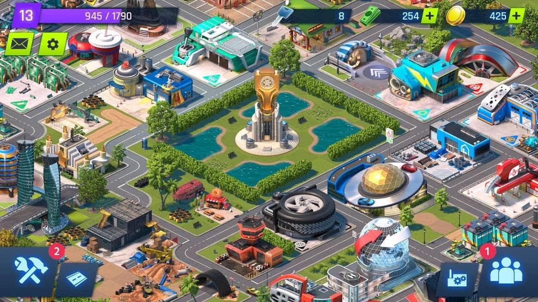دانلود Overdrive City – Car Tycoon Game 1.1.24 – بازی شهر ماشین ها اندروید