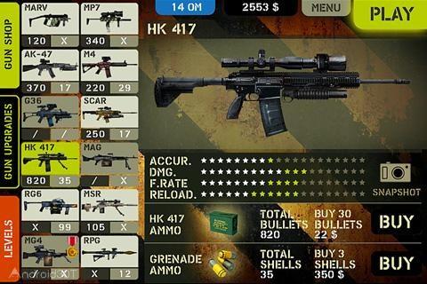 Overkill 2 1.46 – بازی مهیج اکشن و تفنگی اندروید + دیتا