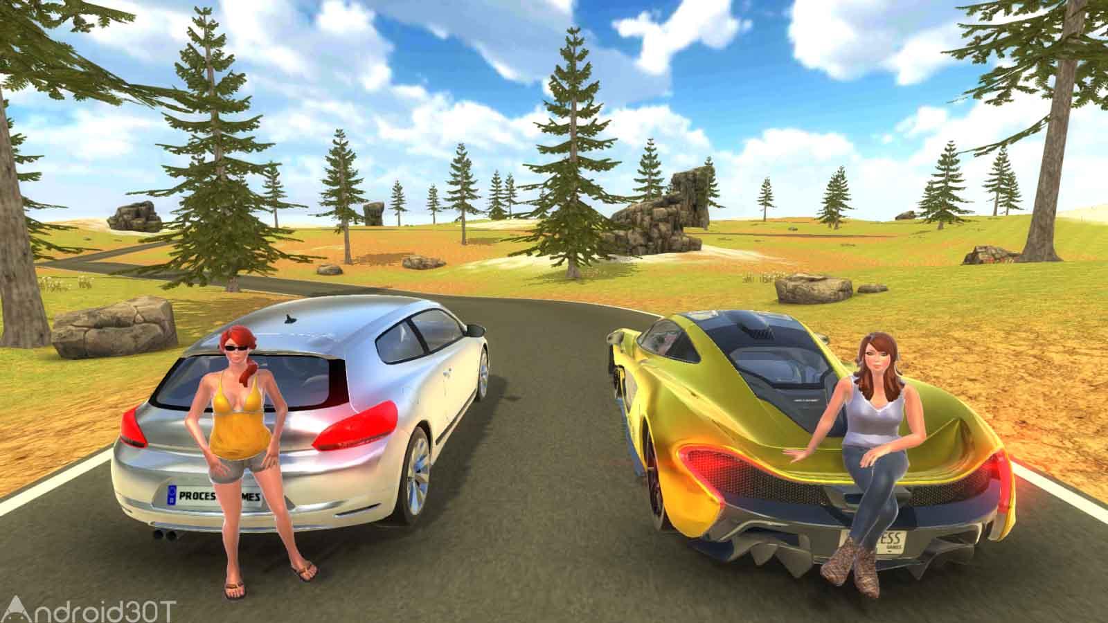 دانلود P1 Drift Simulator 1.0 – بازی شبیه ساز رانندگی اندروید