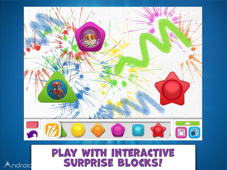دانلود 1.0.0 PAW Patrol Draw & Play – بازی و رنگ آمیزی پاو پاترول اندروید