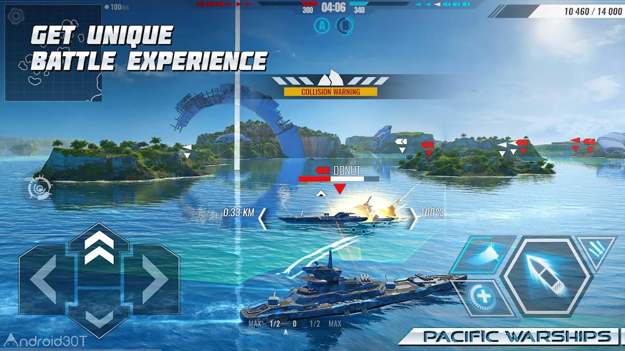 دانلود 1.1.04 Pacific Warships – بازی جنگ های اقیانوس آرام اندروید