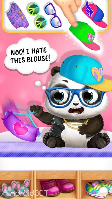 دانلود Panda Lu Baby Bear World 1.0.67 – بازی جالب نگهداری از پاندا اندروید