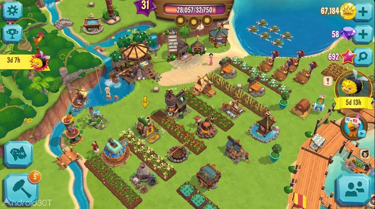 دانلود Paradise Bay 3.9.0.7844 – بازی سرگرم کننده بهشت گرمسیری اندروید