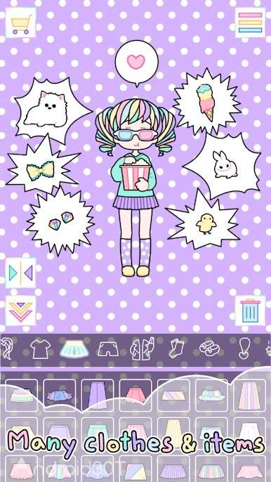 دانلود Pastel Girl 2.5.0 – بازی جذاب دختر پاستیلی اندروید