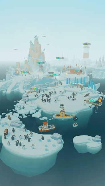 دانلود Penguin Isle 1.32.1 – بازی جزیره پنگوئن ها اندروید