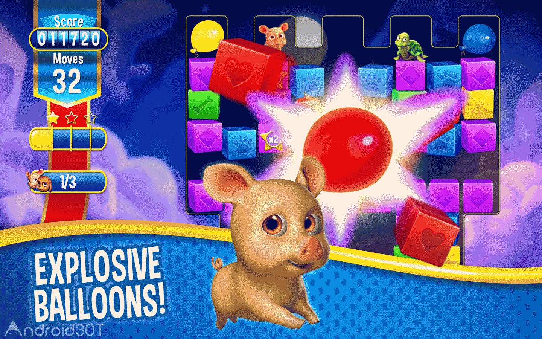 دانلود Pet Rescue Saga 1.312.10 – بازی پرطرفدار نجات حیوانات خانگی اندروید