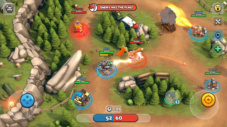 دانلود Pico Tanks: Multiplayer Mayhem 46.0.0 – بازی اکشن تانکها اندروید