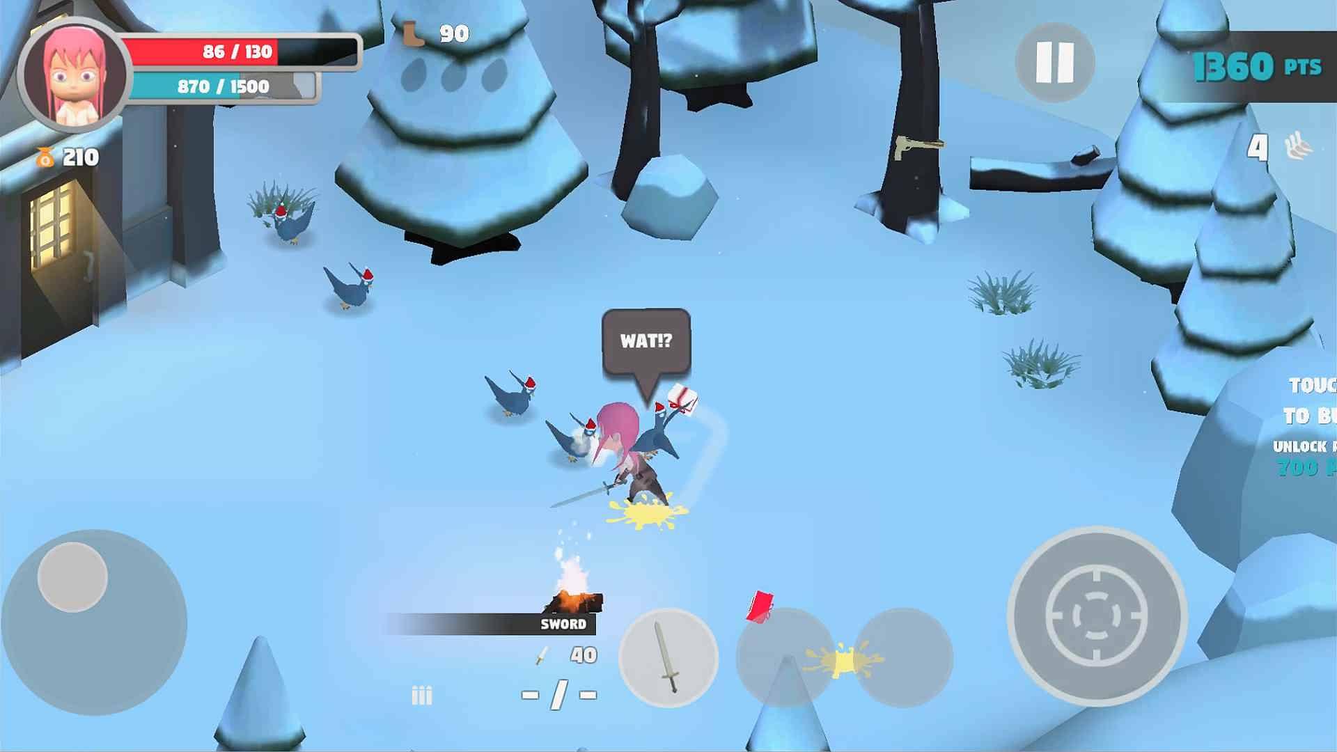 دانلود Pigeons Attack 1.1.5 – بازی اکشن حمله کبوترها اندروید