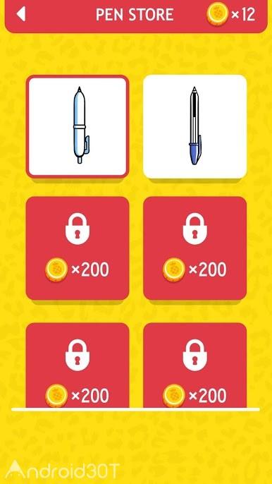 دانلود Pineapple Pen 1.5.1 – بازی آناناس و خودکار اندروید