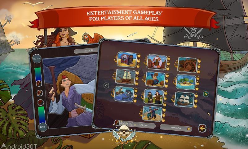دانلود Pirate Mosaic Puzzle 1.0 – بازی جذاب دزدان دریایی اندروید
