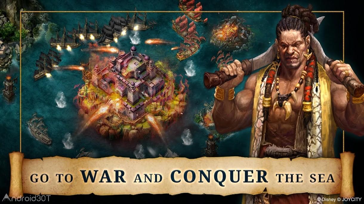 دانلود Pirates of the Caribbean: ToW 1.0.144 – بازی دزدان دریایی کارائیب اندروید