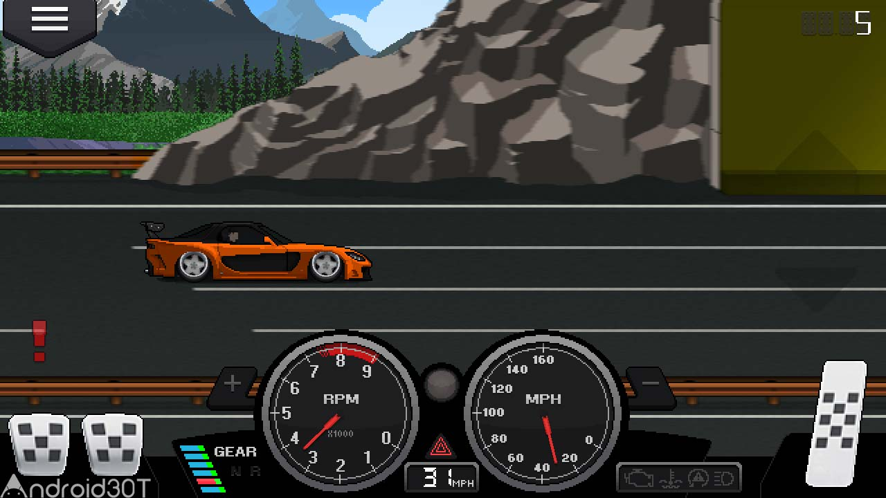 دانلود Pixel Car Racer 1.1.61 – بازی جذاب ماشین سواری پیکسلی اندروید