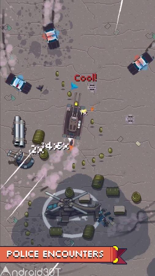 دانلود Pixel Drifters: Nitro 1.02 – بازی جذاب رانندگان پیکسلی اندروید