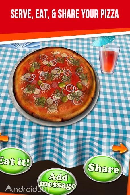 دانلود Pizza Maker – My Pizza Shop 2.7.1 – بازی جالب پخت پیتزا برای اندروید