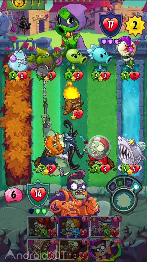 دانلود Plants vs. Zombies Heroes 1.36.42 – بازی قهرمانان گیاهان و زامبی ها اندروید