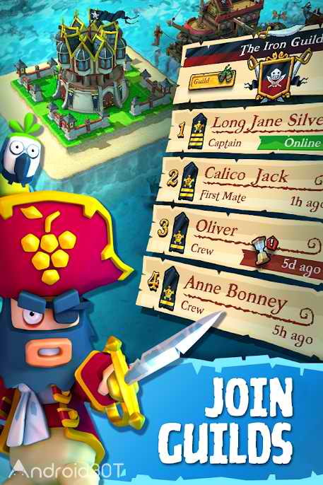 دانلود Plunder Pirates 3.8.0 – بازی دزدان دریایی غارتگر برای اندروید