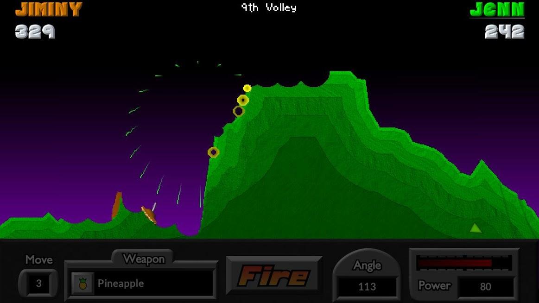 دانلود Pocket Tanks 2.5.2 – بازی تانک های جیبی اندروید