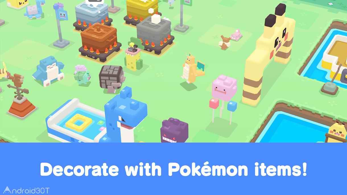دانلود Pokémon Quest 1.0.3 – بازی سرگرم کننده اندروید