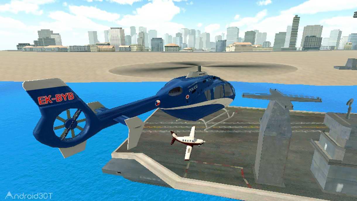 دانلود Police Helicopter Simulator 1.51 – بازی هیجان انگیز هلی کوپتر پلیس اندروید